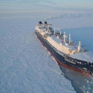 First Icebreaking LNG Carrier Ready for Service