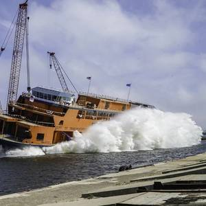 Video: Eastern Launches Third Staten Island Ferry