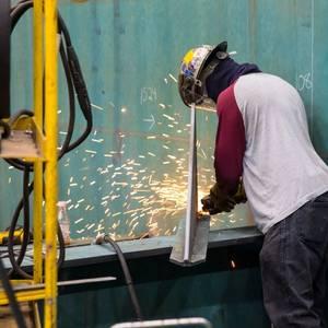 Eastern Cuts Steel for USCGC Ingham