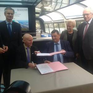 Port Authority of Strasbourg Partners with HAROPA