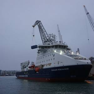 SCF's New Icebreaker Named Gennadiy Nevelskoy