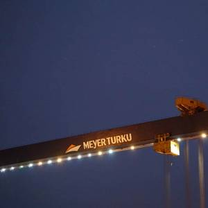 Shipyard Fire at Meyer Turku