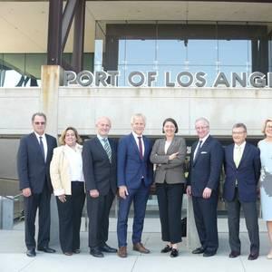 EU Ports, Port of Los Angeles Address Atlantic Issues