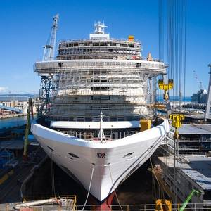 Fincantieri Floats Out MSC Seashore