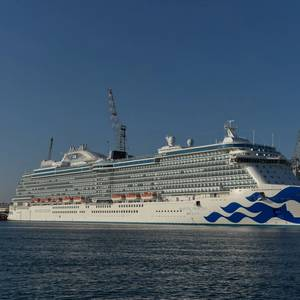 Princess Cruises Takes Ship Delivery from Fincantieri