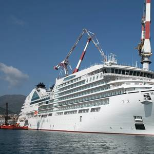Cruise Ship Seabourn Ovation Delivered