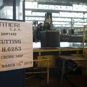 Fincantieri Starts Work on New Viking Ship