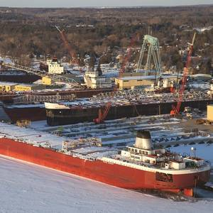 Winter Work on the Great Lakes