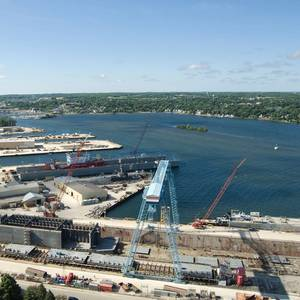 Bay Shipbuilding Gearing Up to Support Navy Builds