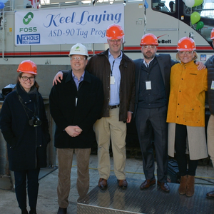 Keel Laid for Foss Tier IV Tugboat