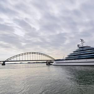 Largest Ever Dutch-built Yacht Launched