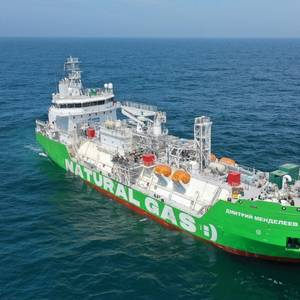 Russia's First LNG Bunkering Ship Completes Sea Trials