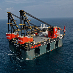 GE Powers World's Largest Crane Vessel