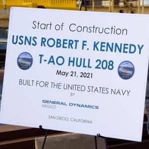 NASSCO Begins Building US Navy's Fourth T-AO Oiler