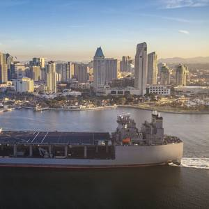 USNS Hershel 'Woody' Williams Delivered
