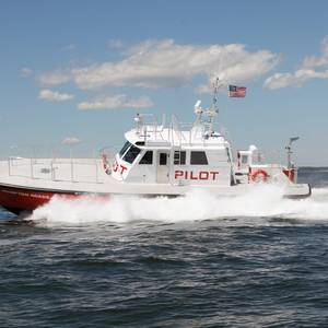Gladding-Hearn Delivers Pilot Boat in Virginia