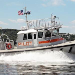 Gladding-Hearn Delivers St. Lawrence Seaway Pilot Boat