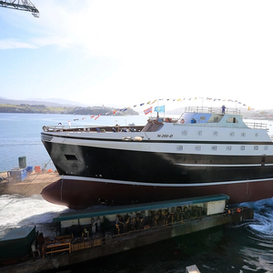 GONDAN Launched New Fishing Stern Trawler