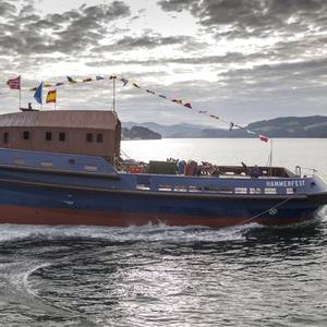 European Built Dual Fuel Tug Launched