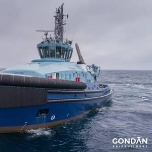 Dual Fuel Tug Delivered to Østensjø Rederi