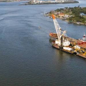 Great Lakes Wins Jacksonville Harbor Dredging Contract
