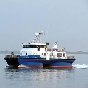 Waterjets Refit for Five Offshore Wind Vessels