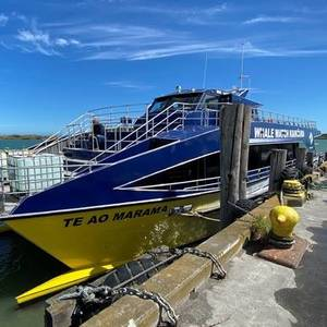 HamiltonJet Equips New Whale Watching Vessel