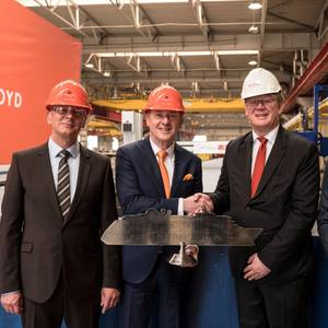 Steel Cut for Hapag-Lloyd's New Expedition Ship