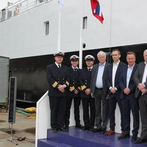 Fjord1's First Battery-powered Ferry Named at Havyard