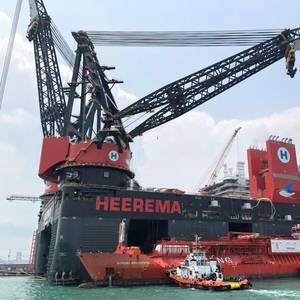 Heerema Unveils World's Largest Offshore Crane Vessel