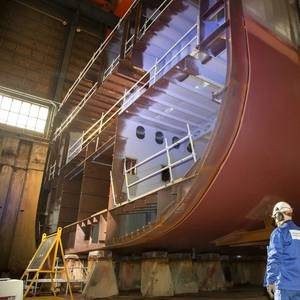 Helsinki Shipyard Lays Keel for Swan Hellenic's New Cruise Ship