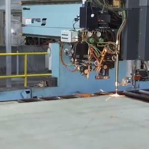 Video: First Steel Cut for Aircraft Carrier Doris Miller