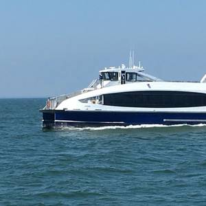 First Citywide Ferry Departs for New York