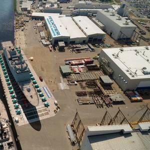 Fincantieri Marinette Marine Buys a Pearlson Shiplift