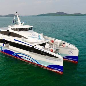 Fast Ferry Brilliance of Majestic Launched