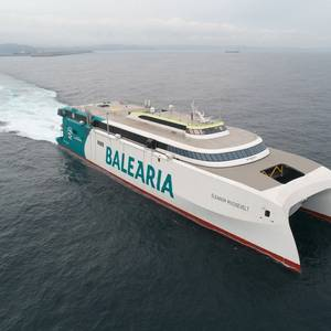 Baleària's New High-speed Dual-fuel RoPax Eleanor Roosevelt Enters Service