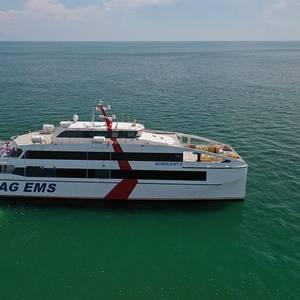 Penguin Shipyard Delivers Ferry for Germany's AG EMS