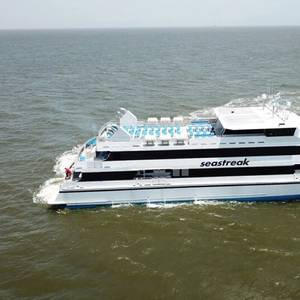 New Ferry Seastreak Commodore Delivered