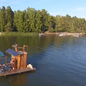 Floating Sauna Sails from Helsinki to Tallinn