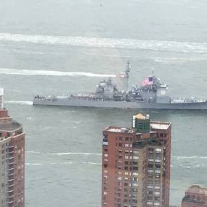 Ships Parade Kicks off NY Fleet Week