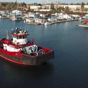 Jensen Maritime Provides Design for Shaver's New Tugboat