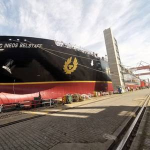 World's First IMO Type B Very Large Ethane Carrier Launched