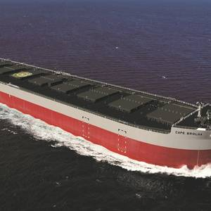 'K' Line Takes Delivery of 210,000 DWT Bulk Carrier