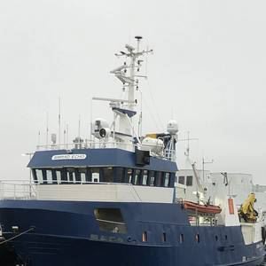 Research Vessel Equipped with Integrated IoT System