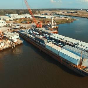 Smith Maritime Hauls Equipment to Puerto Rico