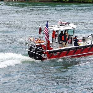 New Lake Assault Boats Fireboat