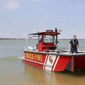 Waco Takes Delivery of Lake Assault FireBoat