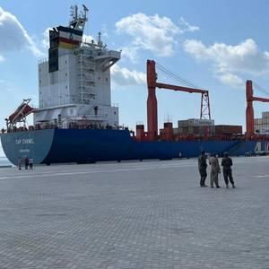 First Ships Dock at Kenya's Lamu Deep Water Port