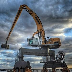 Liebherr's Largest Port Handling Machine Delivered