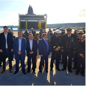First Shore-to-Ship Cold Ironing Connection In Eastern Med